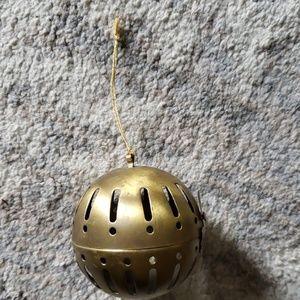 Brass Potpourri Hanging Ornament